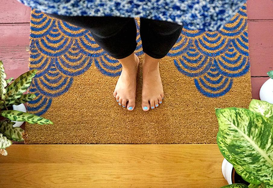 Fußmatte mit Wellen bedrucken