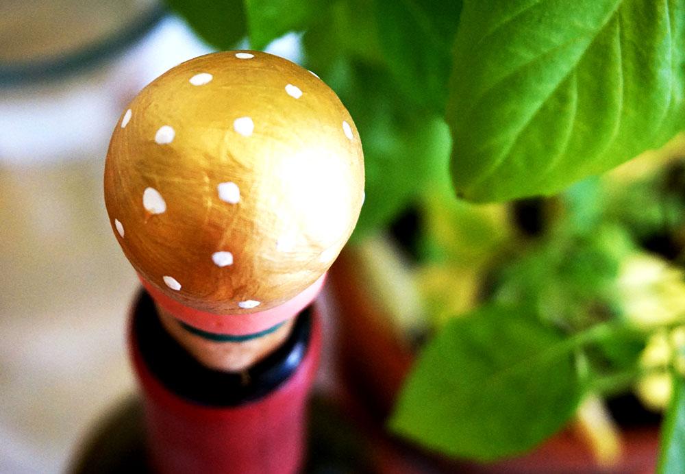 Flaschenverschluss-Korken-Modelliermasse-DIY-Fimo-Selbermachen